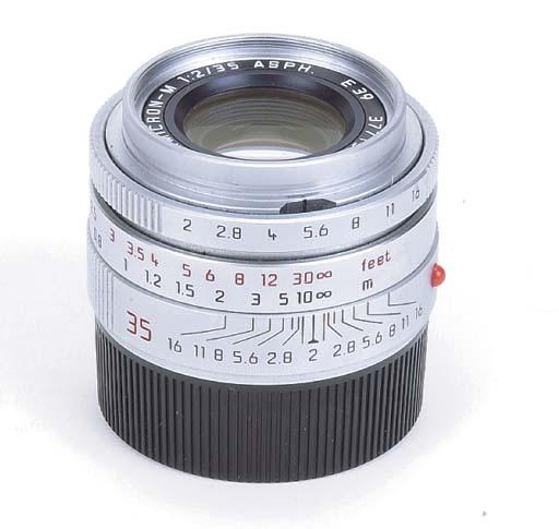Summicron-M ASPH f/2 35mm. no. 3771532