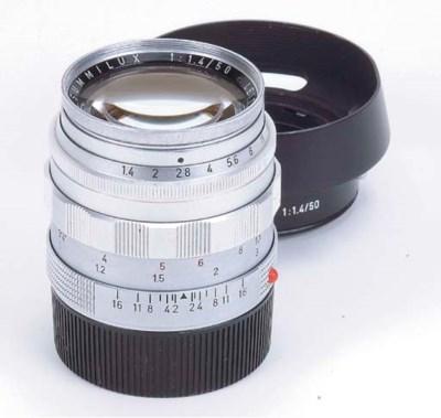Summilux f/1.4 50mm. no. 16908