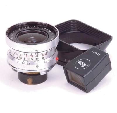 Super-Angulon f/3.4 21mm. no.