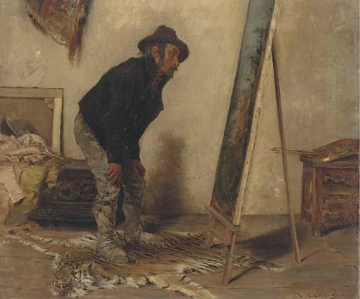 Antonio Lonza (Italian, 1846-1