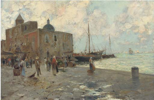 Oscar Ricciardi (Italian, 1864