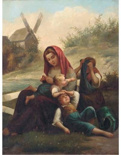F.Bues, (Dutch, 19th Century)