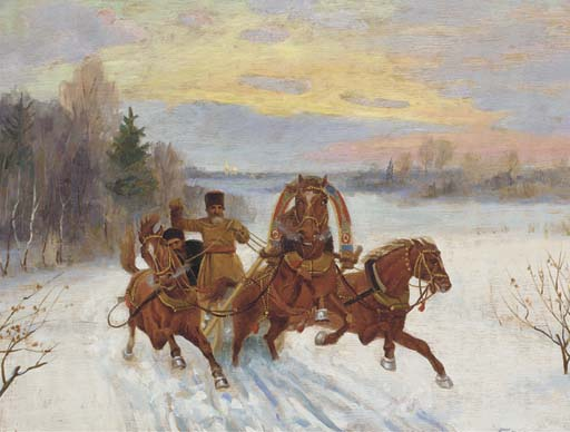 Nikolai Bakulin (Russian, late