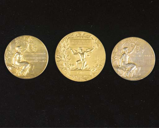 PRIZE MEDALLIONS