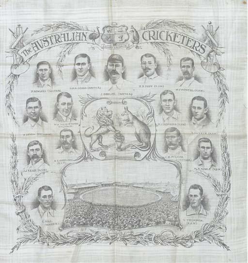 THE AUSTRALIAN CRICKETERS, 190