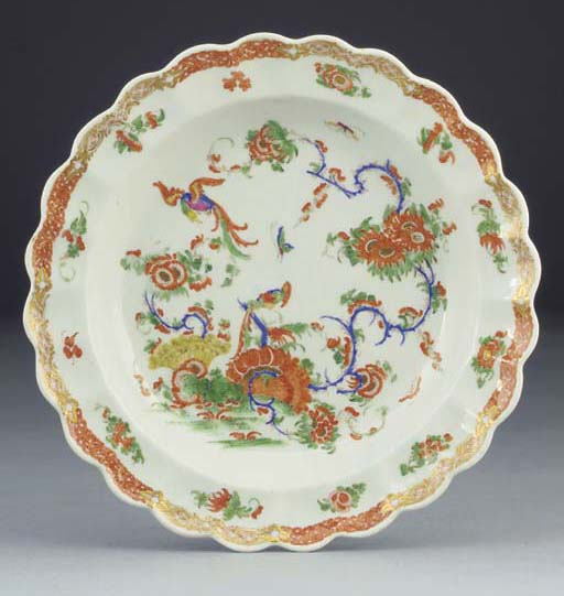 A Worcester lobed polychrome p