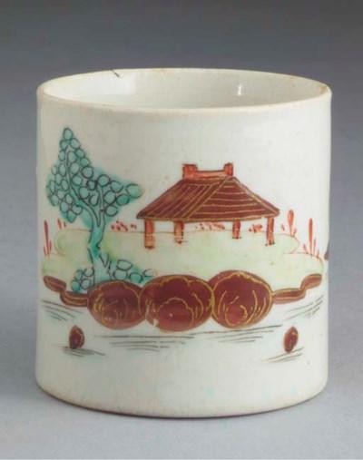 A Bow small cylindrical mug