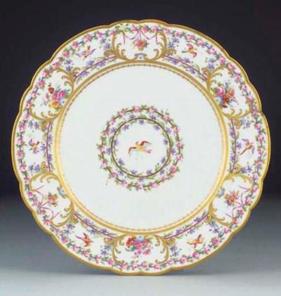 Eight Paris (Darte) plates