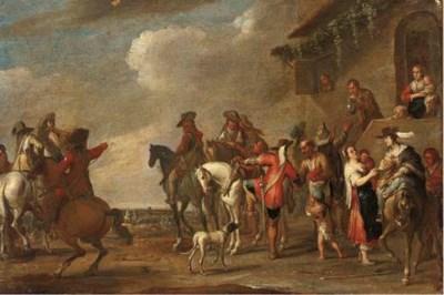 Follower of Cornelis de Wael