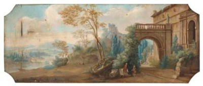 Manner of Hubert Robert