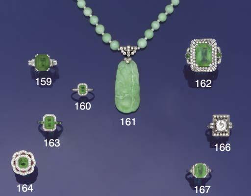 A Belle Epoque emerald and dia