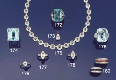 A rose-cut diamond and diamond