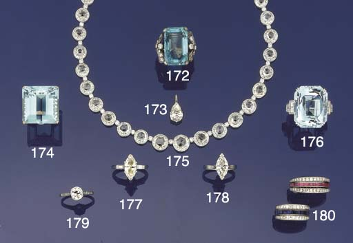 A diamond solitiare ring