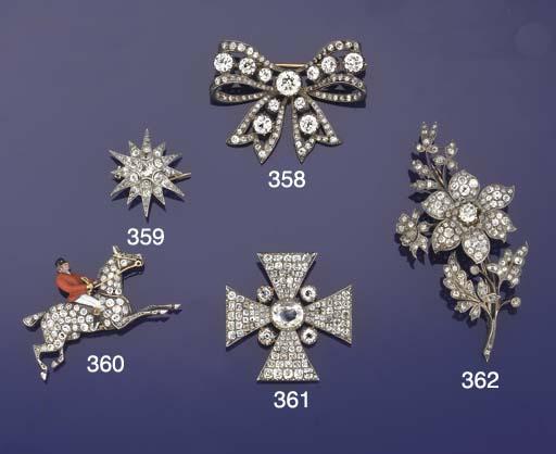 A late Victorian diamond and e