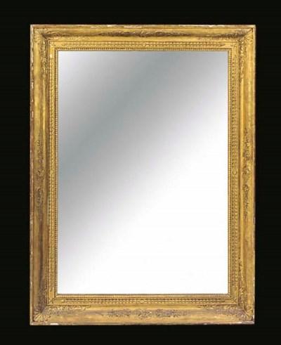 A Directoire gilt frame