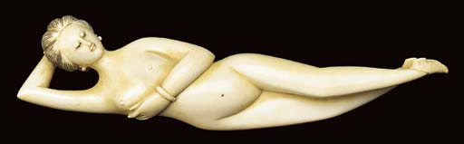 A CHINESE IVORY DOCTOR'S MODEL