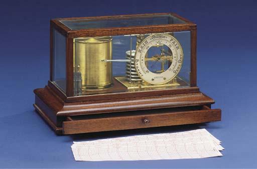 A mahogany-cased forecasting b