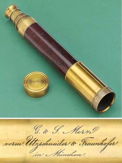 A rare 19th-Century mahogany-b
