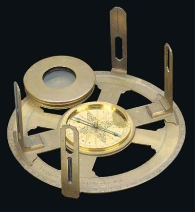 An 18th-Century brass circumfe