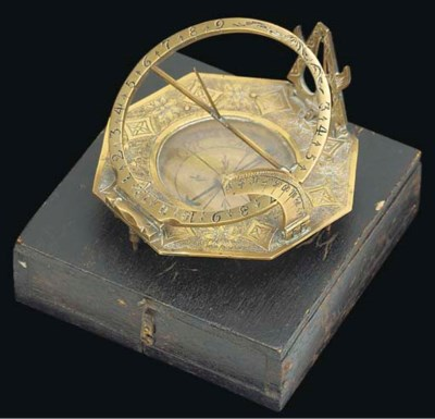 A late 18th-Century brass augs