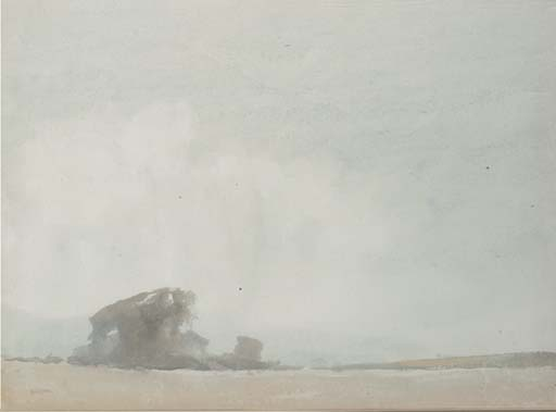 'RAMSEY', A WATERCOLOUR ON PAP