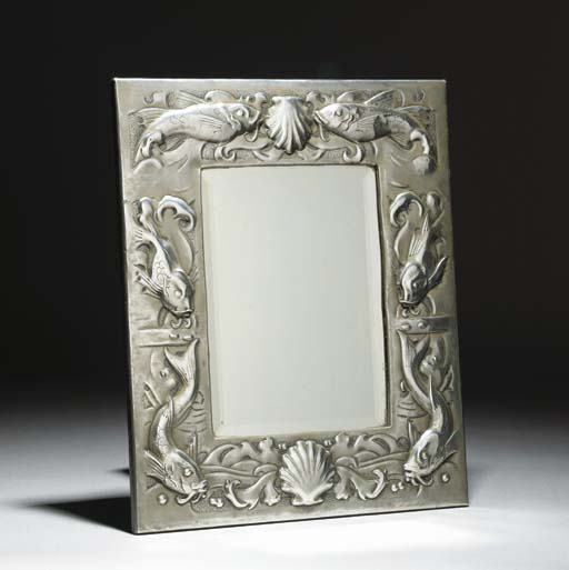 A Pewter Mirror