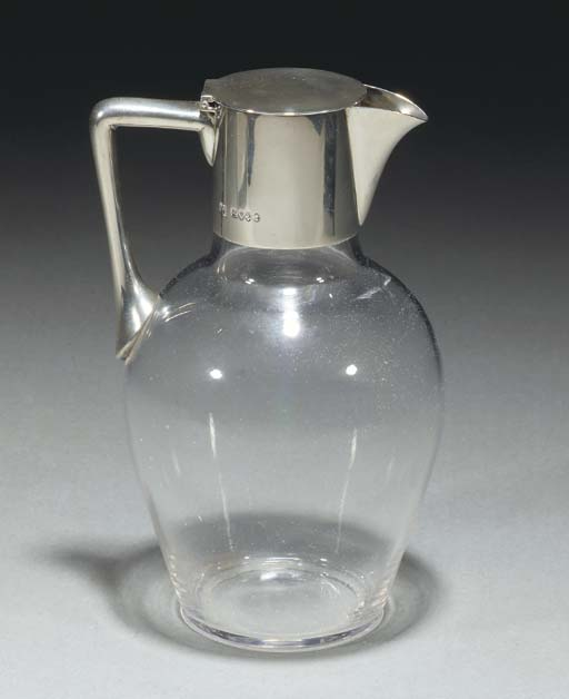 A Silver Mounted Claret Jug