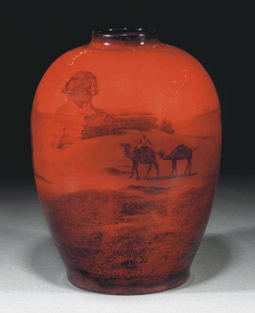 A Flambe Vase