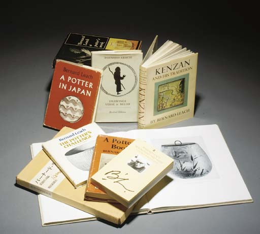 A Group of Books Relating to Bernard Leach  (9)
