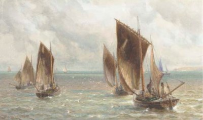 Charles Sim Mottram (exh.1876-
