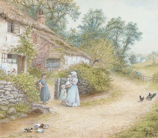 Ethelene Eva Dell, 19th Centur