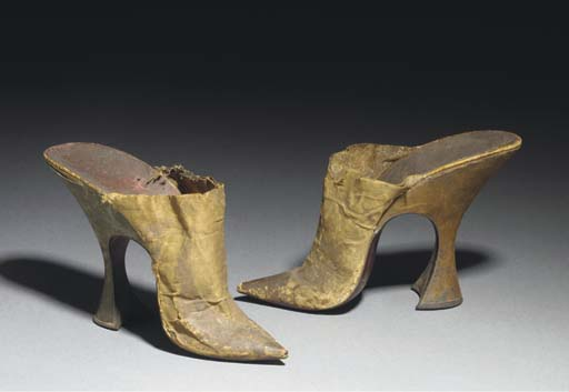 A pair of lady's high-heeled m