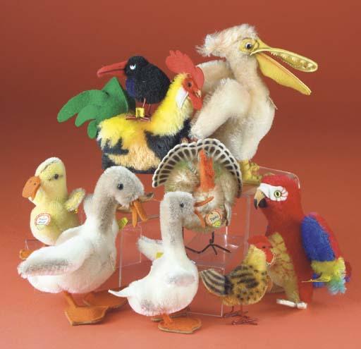 Steiff birds