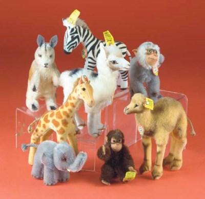 Steiff wild animals