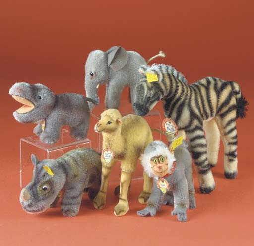 Steiff wild animals