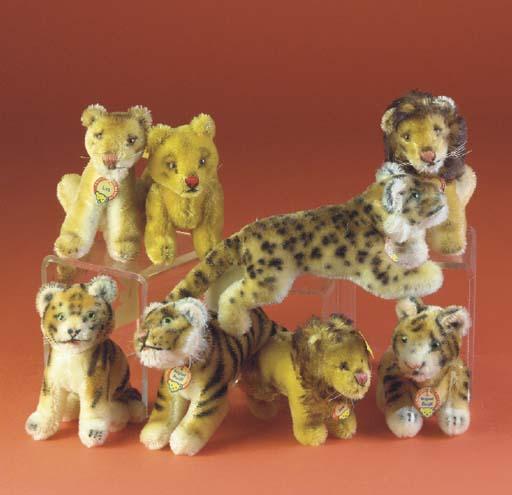 Steiff wild cats