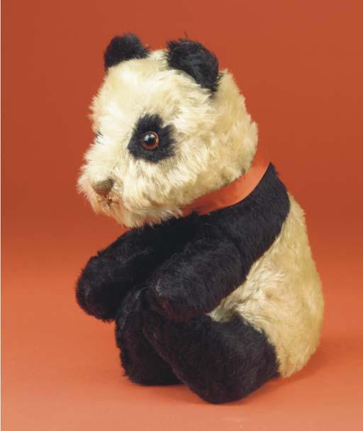 A British panda pyjama case