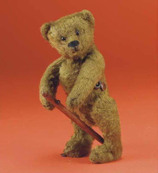 A Bing clockwork walking teddy