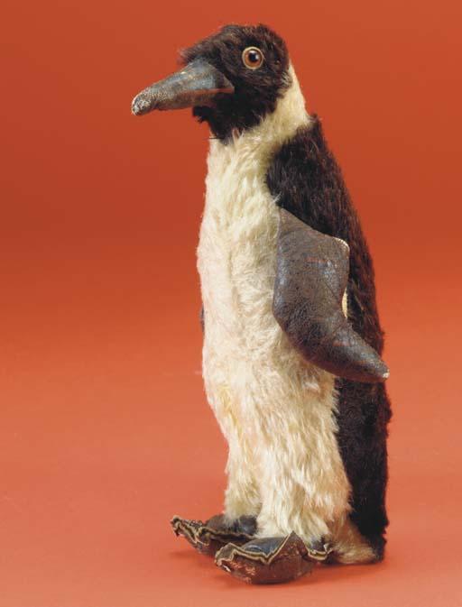A rare Steiff penguin