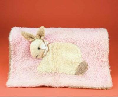 A Sleep-a-lot rabbit pram blan