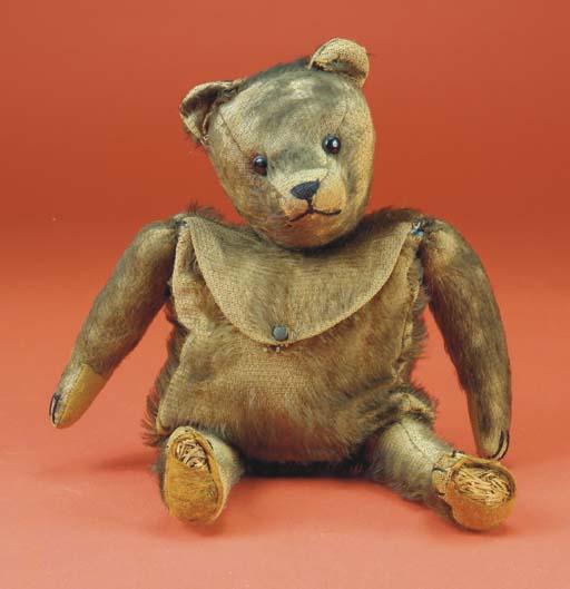 An unusual teddy bear bag
