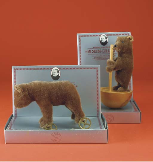 Steiff Museum Collection Bears