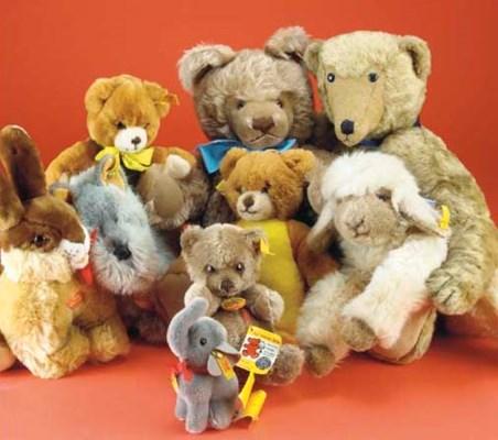 An Original Steiff teddy bear