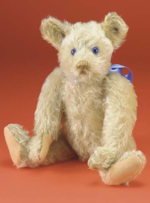 A rare Steiff Petsy teddy bear