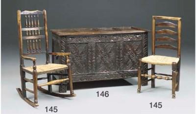 A Gloucestershire oak chest