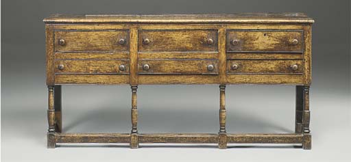 A Welsh Borders oak dresser