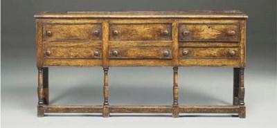 A Welsh Borders oak dresser
