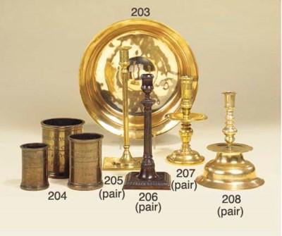 An English brass bowl