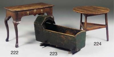 An English elm cricket table