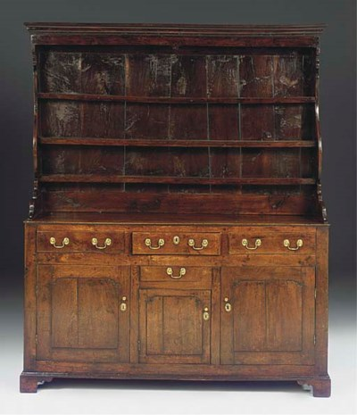A NORTH WALES OAK DRESSER